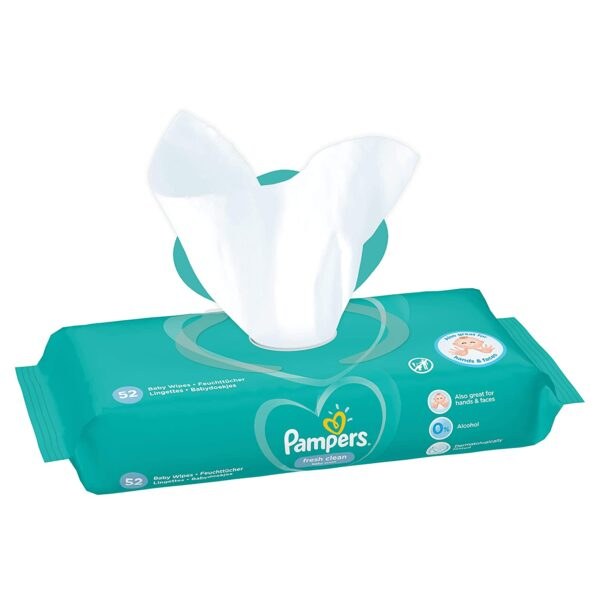 scliq pampers Baby Wipes