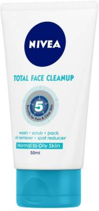 scliq nivea face wash